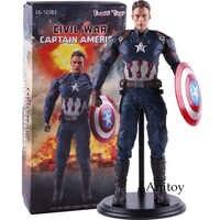 Captain America 3 Burgeroorlog PVC Action Figures Collectible Model Speelgoed