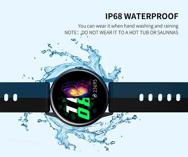 Beautiful Women Waterproof Smart Watch with fitness tracker 4