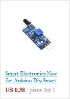 1 шт. DS1820 посылка из нержавеющей стали, водонепроницаемый датчик температуры DS18b20, датчик температуры 18B20 для Arduino