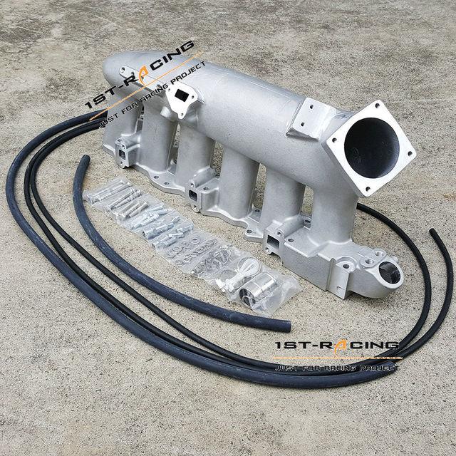 Universal Turbo Plenum: For Nissan Skyline RB25 RB25DET Turbo Intake Manifold
