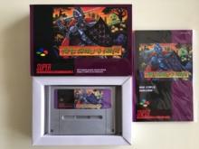 16Bit Games ** SUPER GHOULSN GHOSTS ( French PAL Version!! box+manual+cartridge!! )