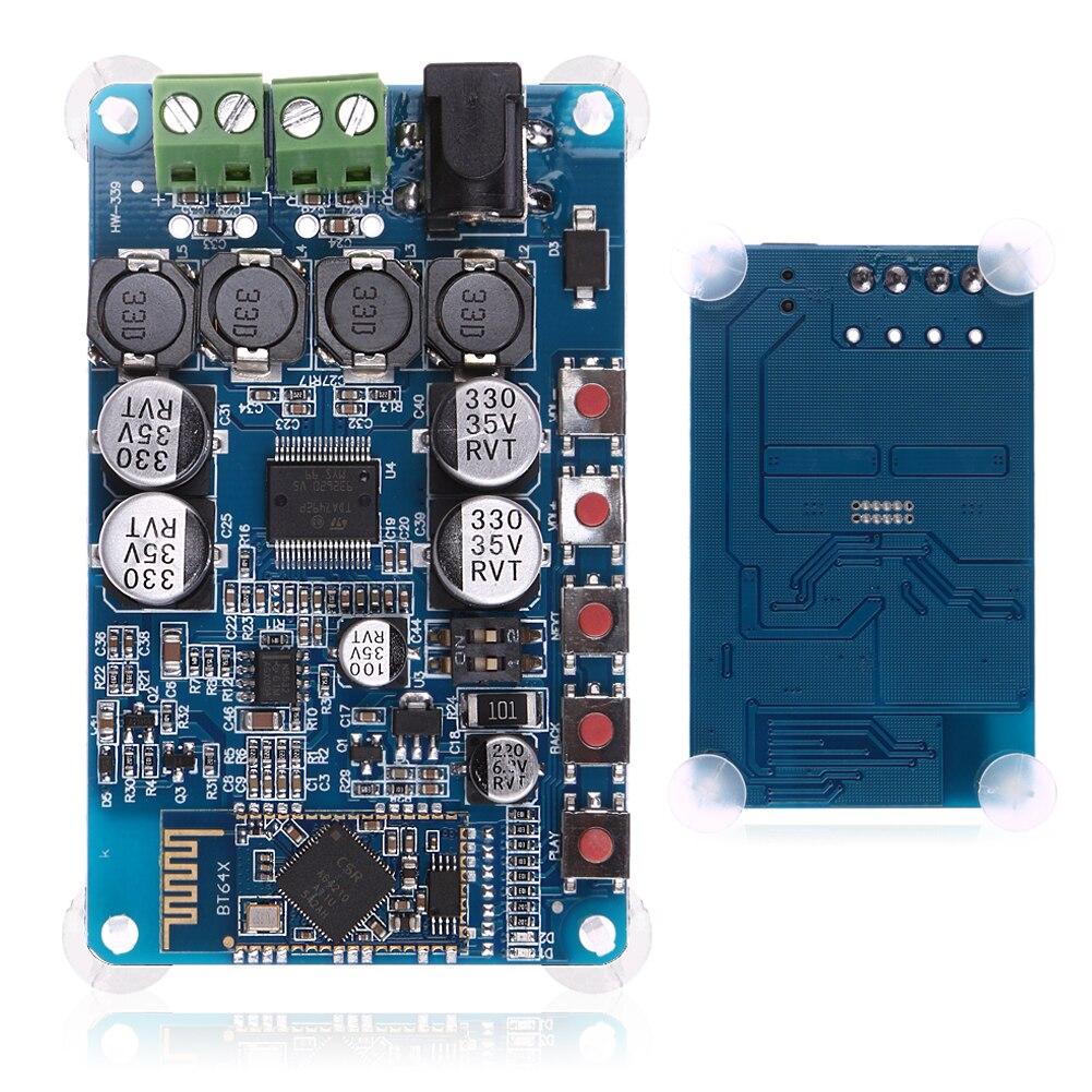 TDA7492P Bluetooth 4.2 CSR8635 Ricevitore Bluetooth Amplificatore Audio Consiglio 2x50 W per 4/6/8/16 Ohm Altoparlanti Modulo Componente di Ricambio