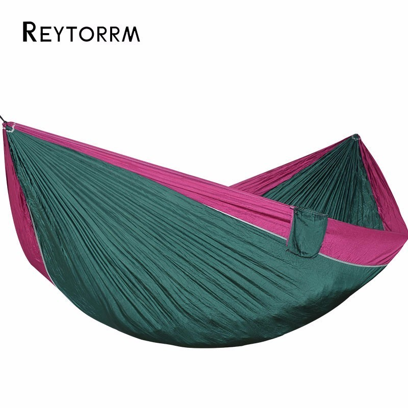 2-3 Person Ultralight Portable Hammock For Camping Travel Hiking Picnic Hanging Swing Seat Hamac Tree Bed