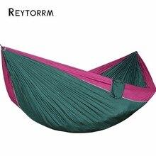 Сверхлегкий портативный гамак для кемпинга, путешествий, пешего туризма, пикника для 2 3 человек, подвесное кресло, кровать для дерева Hamac