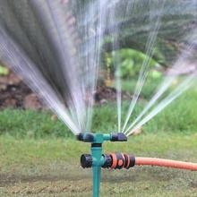 360 Degree Rotating Garden Lawn Sprinkler Plants Flowers Automatic Water Sprayer For Irrigation System