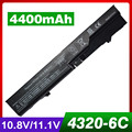 4400mAh laptop battery for HP 420 425 4320t 620 625 ProBook 4320s 4321S 4325s 4326s 4420s  4421s  4425s  4520s  4525s