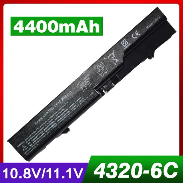 4400mAh laptop battery for HP 420 425 4320t 620 625 ProBook 4320s 4321S 4325s 4326s 4420s  4421s  4425s  4520s  4525s