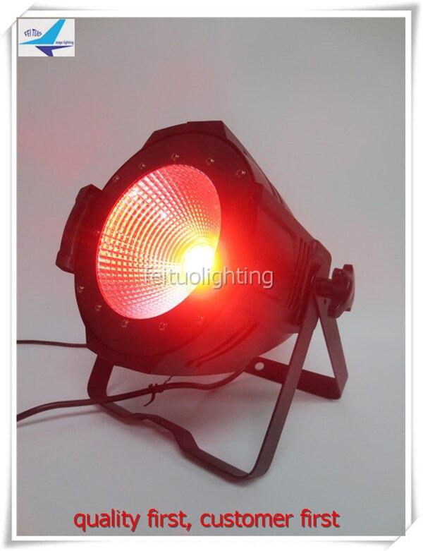 free shipping Aluminum Led Spot Cob Par Light 200w RGBWA UV 6IN1 DMX Par Can Indooor DMX Master Lumiere Show Stage DJ Party Lamp