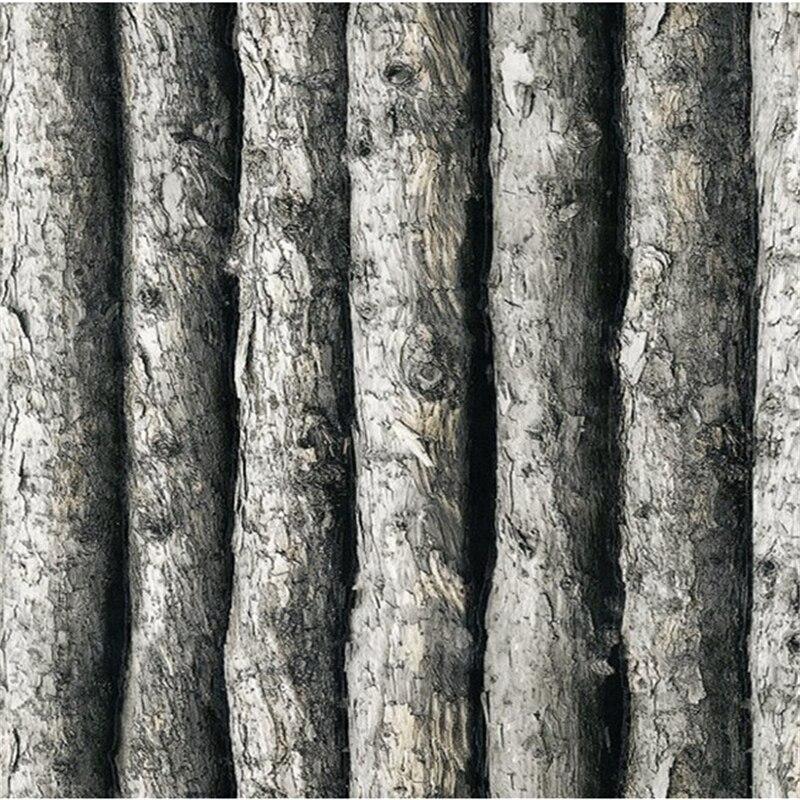Beibehang papier peint en vinyle texturé papier peint 3d papier peint forêt épais en relief arbre de papier peint rouleau décor à la maison pour fond