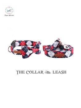 Estrela da moda Artesanal Cão Colarinho com Gravata borboleta de Plástico Fivela Coleira de Cachorro Dog & Cat Pet Acessórios de Qualidade Do Produto e conjuntos trela