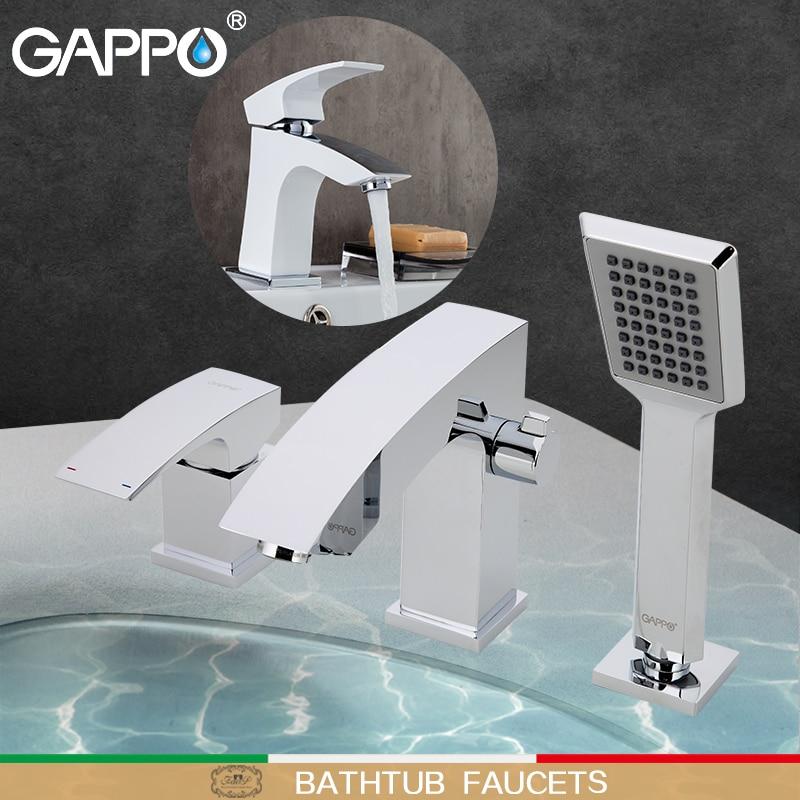 цена на GAPPO Bathtub Faucet bathroom shower faucet tap bath shower set waterfall bathtub sink faucet water mixer sink taps