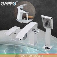 GAPPO Küvet Musluk banyo duş musluk musluk banyo duş seti şelale küvet lavabo musluğu su mikser lavabo muslukları