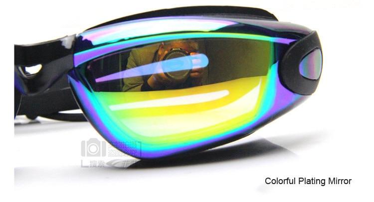 888a597c4 Gafas de natación para mujer, hombres, impermeable, Anti-Niebla ...