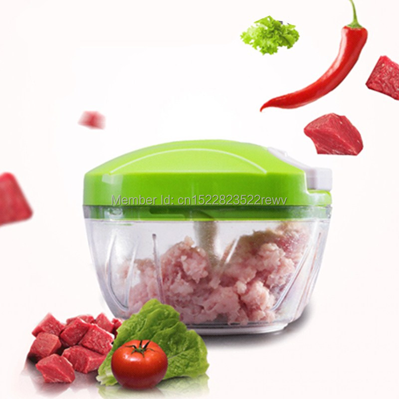 Manual Food Chopper Household Vegetable Chopper Shredder Multifunction Food Processor Meat Machine Crusher Blender in Meat Grinders from Home Garden