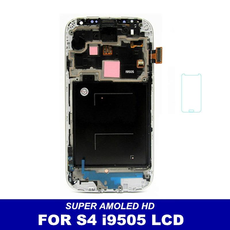 imágenes para De alta Calidad de Super AMOLED Pantalla LCD Para Samsung Galaxy S4 i9505 i337 M919 Pantalla Táctil Digitalizador con Reemplazo Del Bisel Del Capítulo