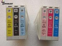 82N cartucho de tinta T0821N T0822N T0823N T0824N T0825N T0826N de cartuchos de tinta para Epson R270/R290/R295/ r390