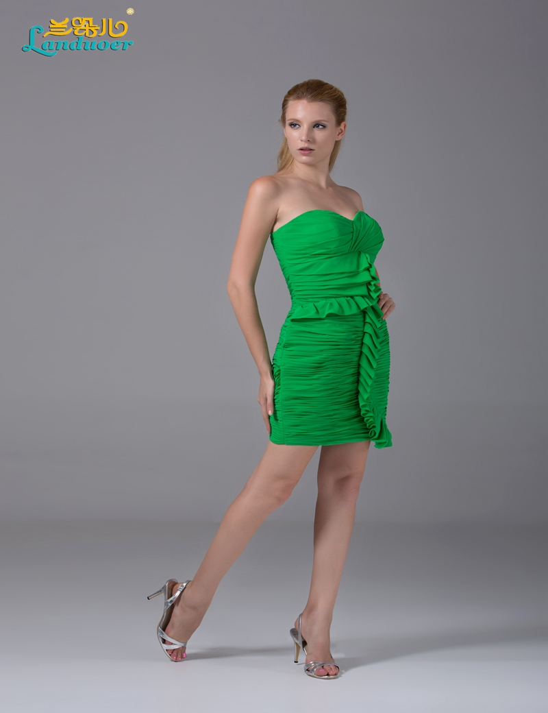 Sexy strapless green chiffon bridesmaid dresses under 100 cheap sexy strapless green chiffon bridesmaid dresses under 100 cheap short party gowns sheath open back 2017 in bridesmaid dresses from weddings events on ombrellifo Gallery