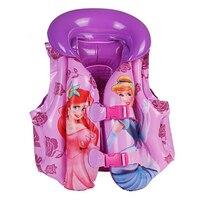 Летний детский надувной плавательный спасательный жилет с героями мультфильмов, спасательный жилет, спасательный жилет