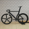 Fixed Gear Bike Fixie Bike Wiht Magnesium Alloy Front Wheel DIY 700C M Track Bike Fixie