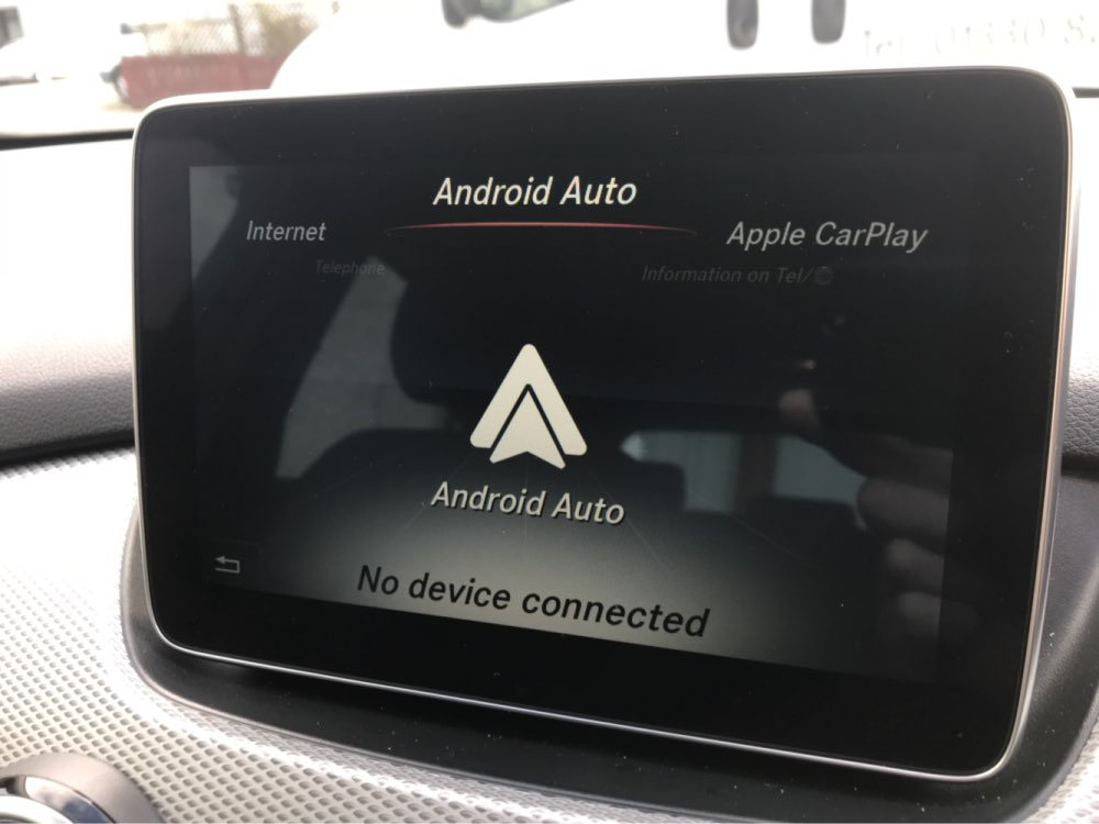 Mercedes Android Auto Activation
