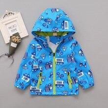 6050030ae4d2e 3-6 ans enfants voiture modèle vestes pour garçon filles à capuche veste  enfants extérieur