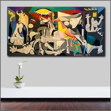 Professional aritsit 100% hand painted Picasso Canvas Painting for Living Room Home Decor Pop Art Modern Wall Oil
