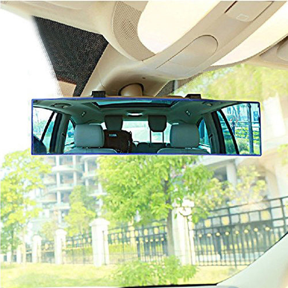 30cm Car Rear View Mirror Large Curve Convex Anti-sunlight Interior Reflector for all the vehicles with standard size mirrors