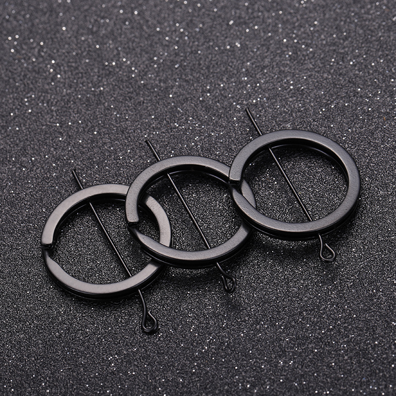 20pcs/lot 1.8*25mm Black Keyring Split Ring (Never Fade) Key Rings For Bag Keychain Diy Jewelry Making Sleutelhanger Key Ring