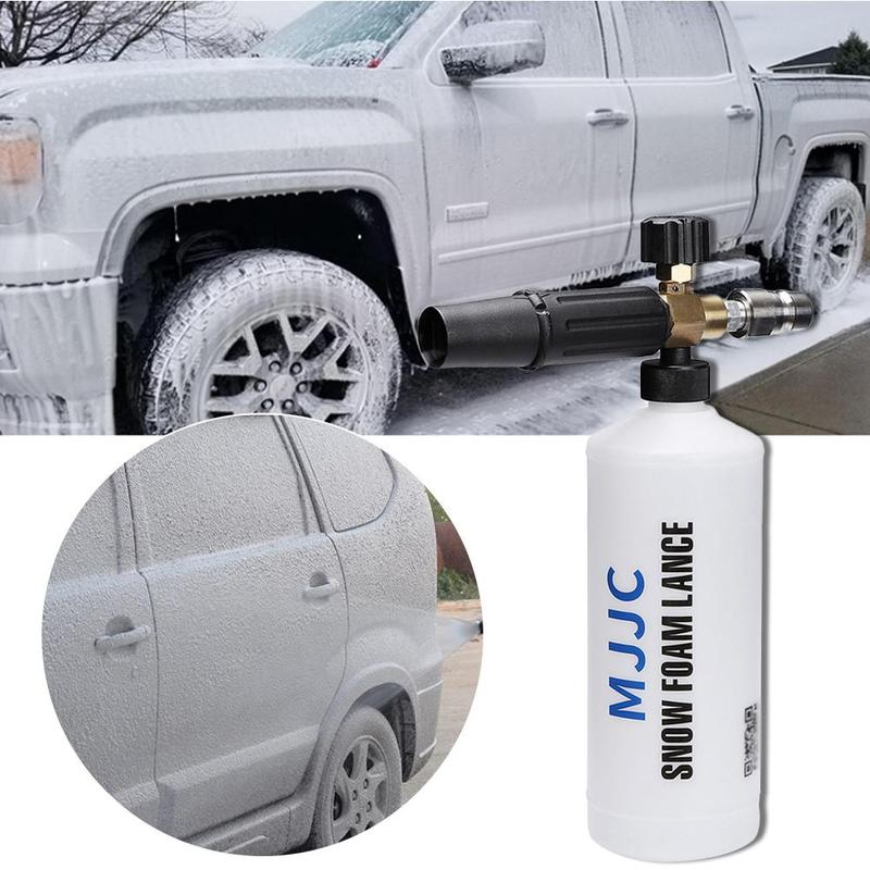 Image 3 - MJJC Foam Lance for PA Quick Release Pressure Washer with PA quick Release Connector Multifunctional Effervescent Spray Cleaner-in Water Gun & Snow Foam Lance from Automobiles & Motorcycles