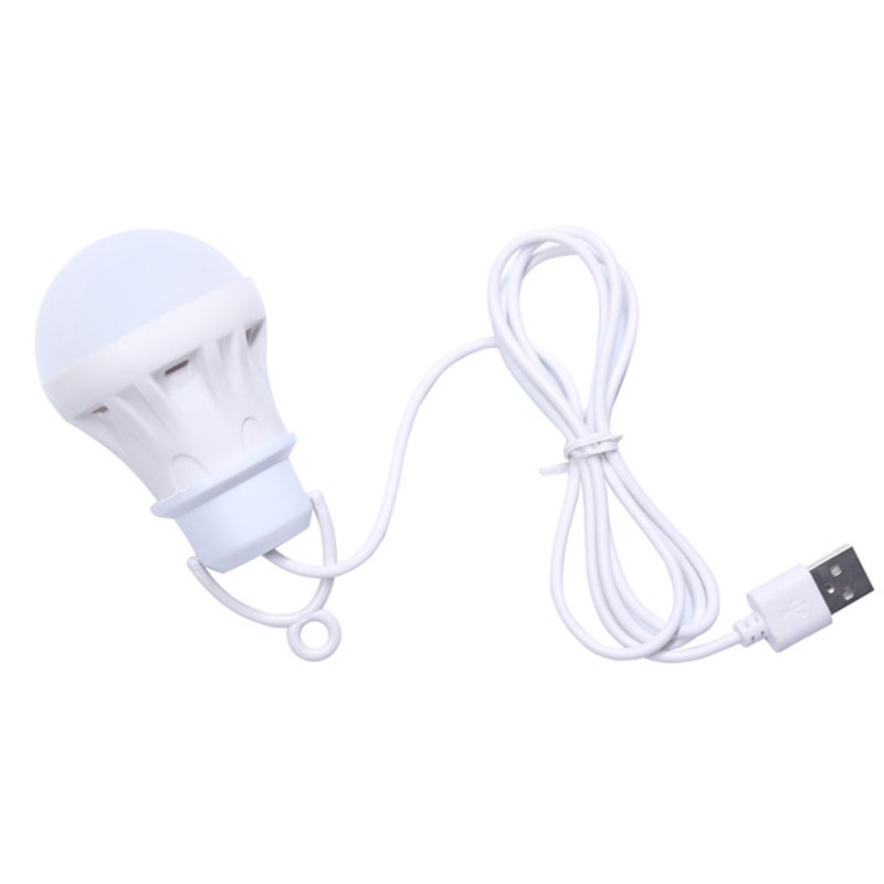 3W/5W/7W Usb Bulb Light Portable Lamp Led 5730 For Hiking Camping Tent Travel Work With Power Bank Notebook Christmas For Home