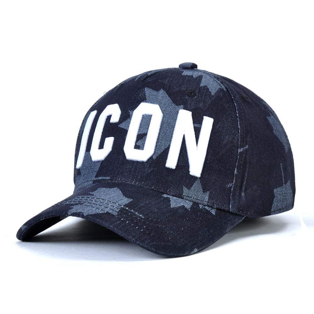 DSQICOND2 DSQ Casquette Hats Solid Pattern Hats Letters ICON Casquette Dad Hip Hop   Baseball     Cap   Snapback   Cap   for Man Woman Hat