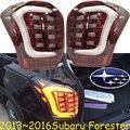 Forester lanterna traseira, carro SUV, 2013 ~ 2016, O navio Grátis! 2 pçs/set, Florestal luz traseira, Forester, outback, XV