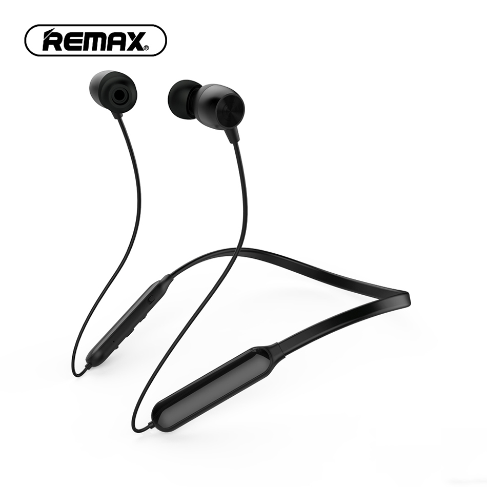 все цены на REMAX Wireless Bluetooth Neckband Earbud Sport Earphone in-ear with Microphone Noise Cancelling headset for Mobile Phone MP3