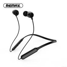 REMAX kablosuz bluetooth Boyun Bandı Kulaklık Spor Kulaklık kulak Gürültü Iptal Mikrofon ile kulaklık Cep Telefonu için MP3