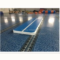 Factory Price China Gymnastics Mat Inflatable Tumble Track Inflatable Air Mat For Sport Training