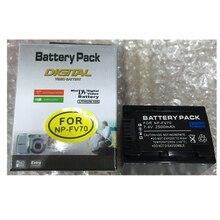 NP-FV70 NP-FV100 NP FV100  lithium batteries pack NPFV100 Digital camera battery NP-FV70 For Sony NP-FV30 NP-FV50 SX83E SX63E