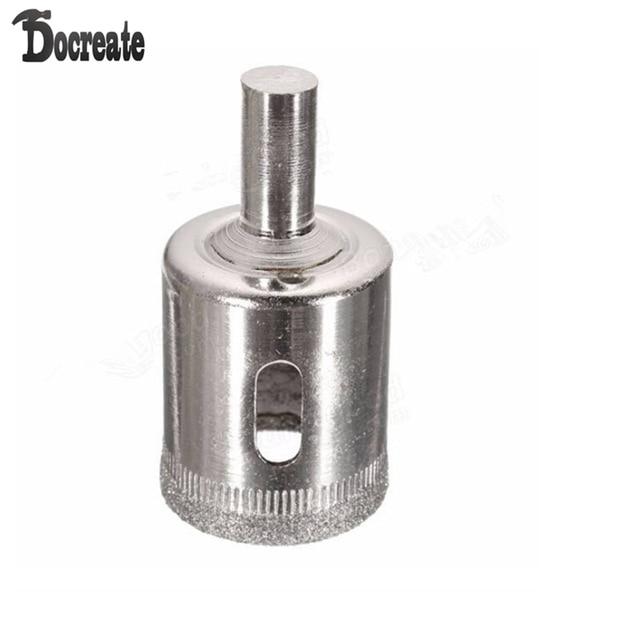 DB-HS1 15 pièces 6-50mm diamant trou scie foret ensemble carrelage céramique verre marbre forets