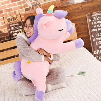 90cm Plush Soft Unicorn Doll