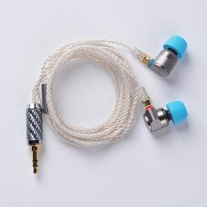 Image 5 - 2018 TIN Audio T2 Pro In Ear Earphone Double Dynamic Drive HIFI Bass Earphone DJ Metal 3.5mm Earphone Headset With MMCX T2