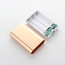 1 PC Battery Receive A Case 5V 1A Power Bank Kit 3X 18650 Holder DIY Box for MP3/4 Phone