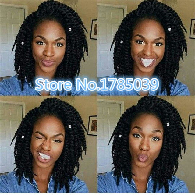 Good Quality Havana Twist Braid Short Synthetic Senegalese Hair Crochet Braiding