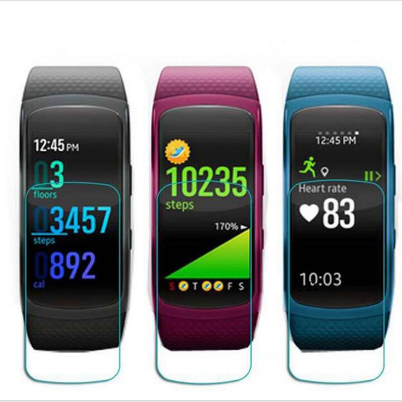 3pcs Anti-Explosion Soft TPU Ultra HD Clear Protective Film Guard For Samsung Gear Fit 2 Fit2 R360 Full Screen Protector Cover