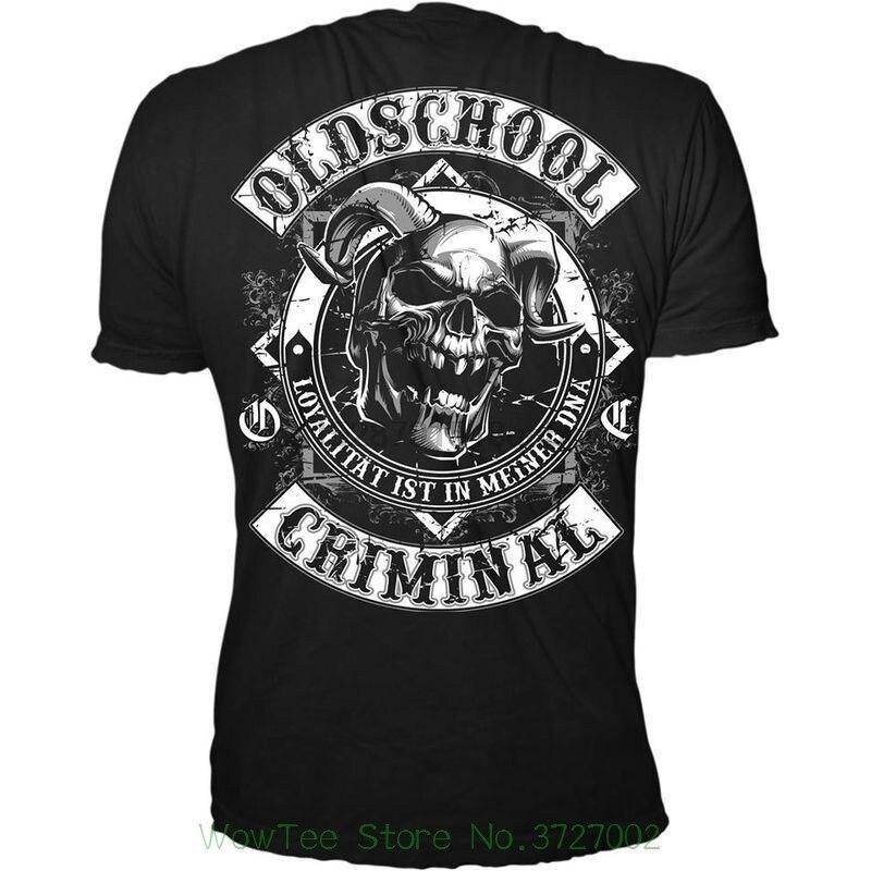 Футболка Oldschool Criminal, Повседневная футболка с принтом Badboys B Se Buben|Футболки|   | АлиЭкспресс