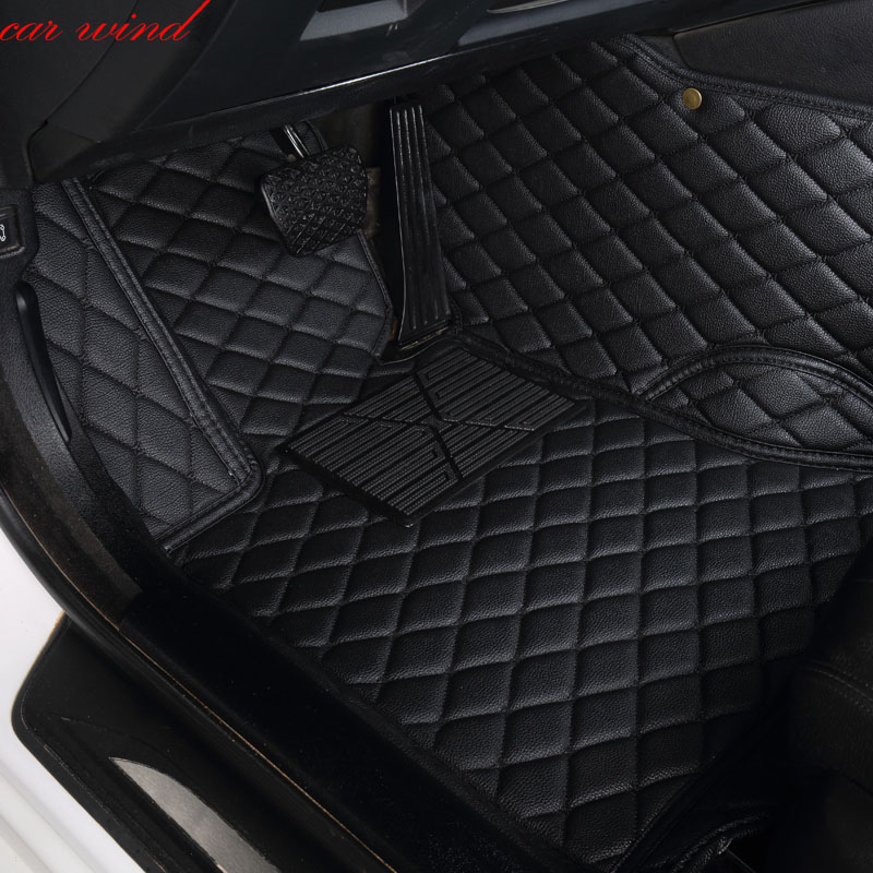Car Wind Leather Auto car floor Foot mat For lexus gs nx rx ct200h lx470 is 250 lx570 LX570 NX200 CT200 ES GS IS LS accessories