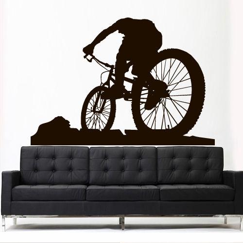 2016 New Wall Vinyl Sticker Decal Sport Mountain Cycle Bmx