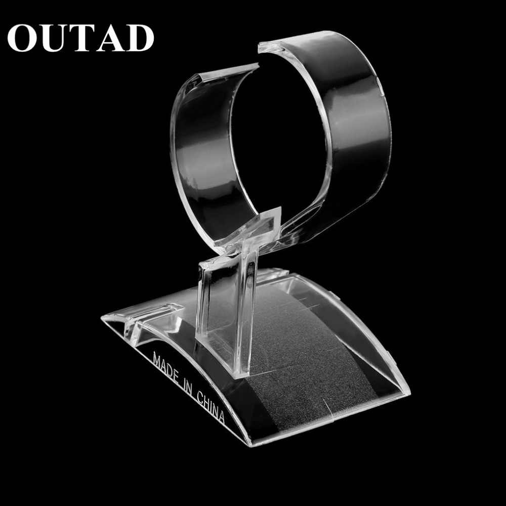 Clear Acrylic Watch Display Holder Stand Rack Showcase Tool Transparent Wristwatch Lightweight Stand Case Winder dropshipping