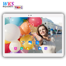 Waywalkers 10 inch tablet pc octa core android 7.0 RAM 4GB ROM 64GB 1920*1200 dual sim card WIFI Bluetooth Smart tablets 10.1 10
