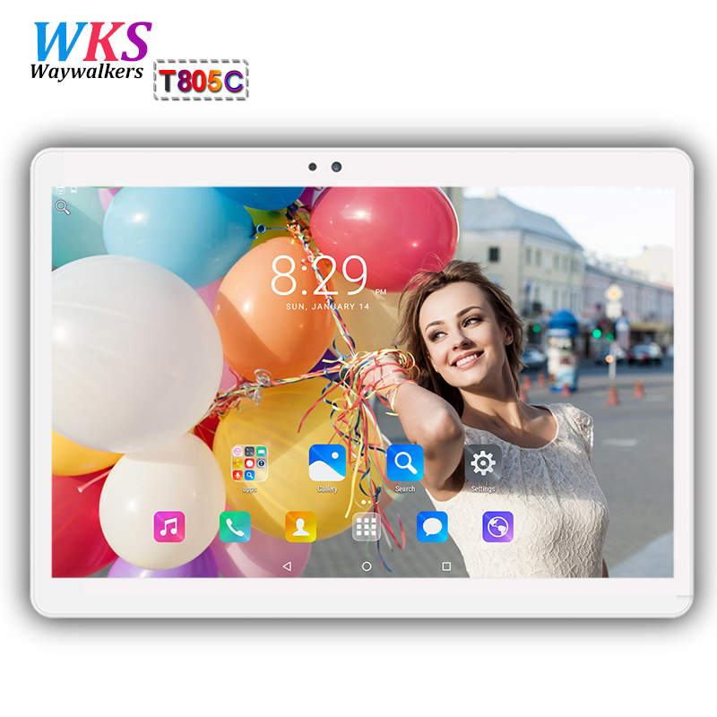 Waywalkers 10 inch tablet pc octa core android 7.0 RAM 4GB ROM 64GB 1920*1200 dual sim card WIFI Bluetooth Smart tablets 10.1 10 waywalkers 10 inch tablet pc android 7 0 octa core ram 4gb rom 32 64gb 1920 1200 ips dual sim wifi bluetooth gps tablets phone