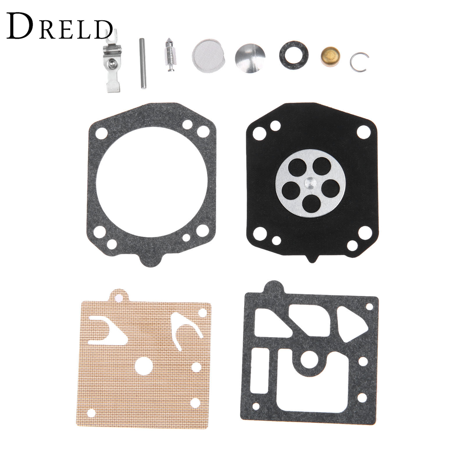 DRELD Carburetor Carb Repair Rebuild Kits For 359 359 EPA 357 357XP Blower Trimmer Chainsaw Parts #Walbro K22-HAD high quality carburetor carb carby for husqvarna partner 350 351 370 371 420 chainsaw poulan spare parts walbro 33 29