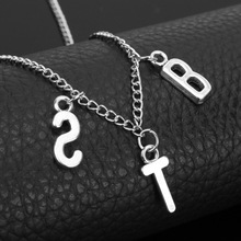 цена на Yiustar Hot KPOP Jewelry SUGA j-hope Jimin Pendant Necklace for Women Men Love Choker Necklaces Bangtan Boys Accessories Gifts